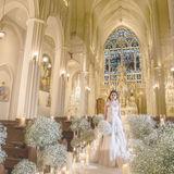 感動的な大聖堂、海とガーデンの絶好ロケーションのノートルダムマリノア。開放的な空間とコロナ対応プランで変わらず喜びあふれる結婚式を