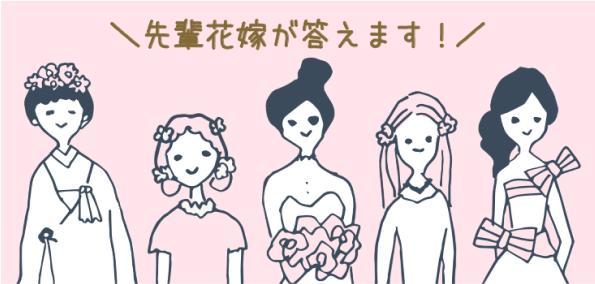 先輩花嫁が答えます!