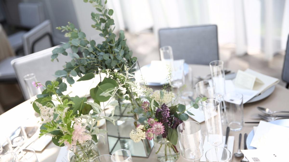 こっそり教えちゃいます テーブル装花をコスパよく高見えさせる4つの