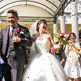 自然と笑顔が生まれる演出盛りだくさん*みんなが楽しめる結婚式!