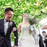 満開のぶどう棚の下で切り拓く未来*縁を結び大切にする結婚式!