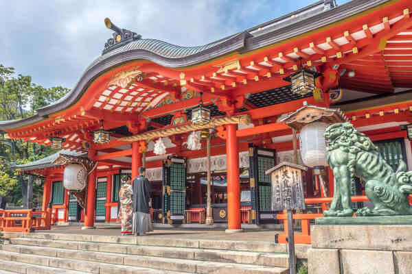 神社・仏閣で憧れの挙式
