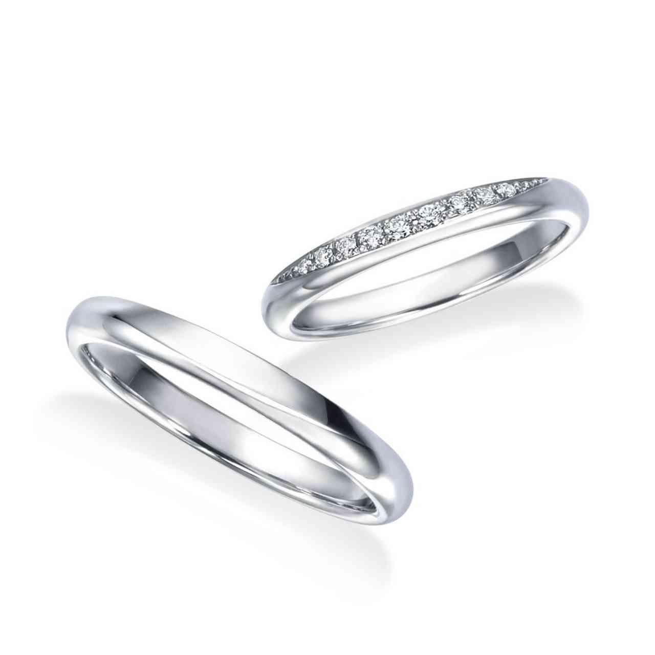 結婚指輪・WRB075/WRA065 フロリア―ドコレクション チューリップシリーズ