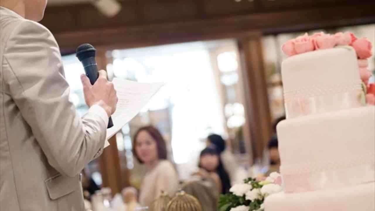 【結婚式】開宴挨拶・スピーチ