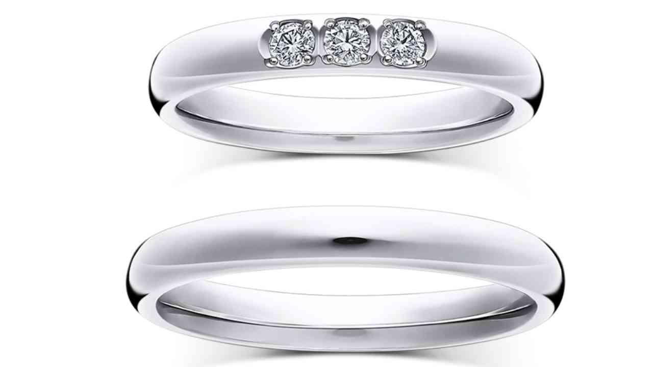 ラザールダイヤモンド結婚指輪・ブリス