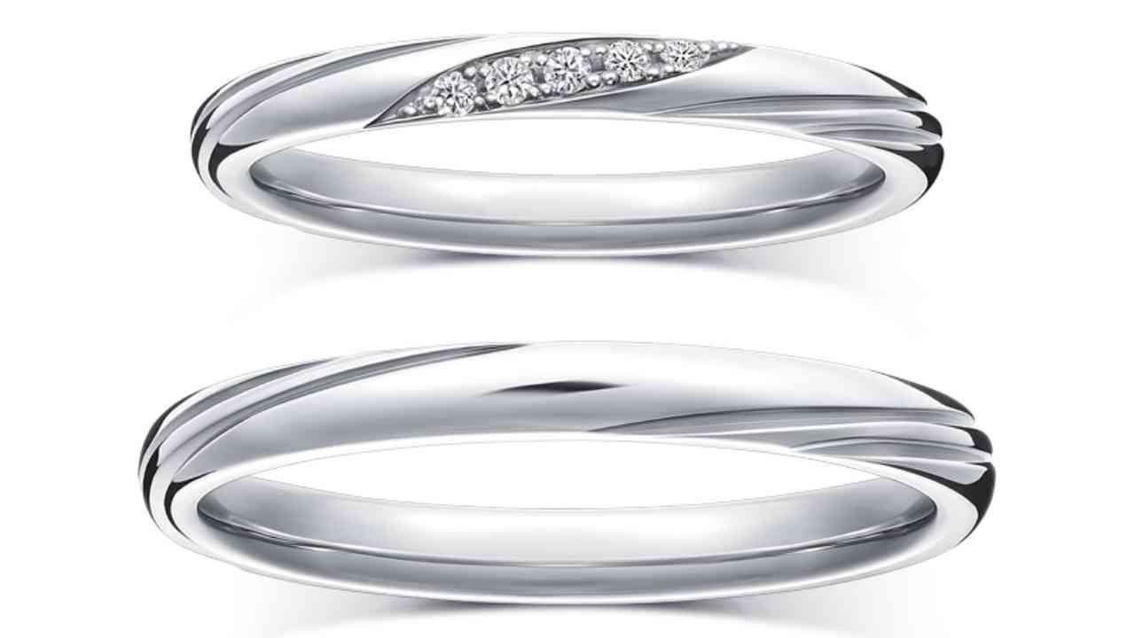 ラザールダイヤモンド結婚指輪・レンブラント