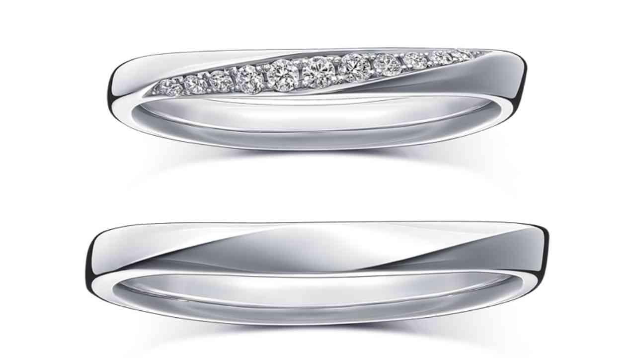 ラザールダイヤモンド結婚指輪・エコー