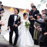 【実例レポ】2つの夢を現実に*和と洋を取り入れたシックで上品な結婚式に