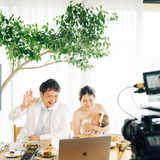 CRAZY WEDDINGのオンライン結婚式サービス『Congrats(コングラッツ)』で叶えたファミリーウェディング