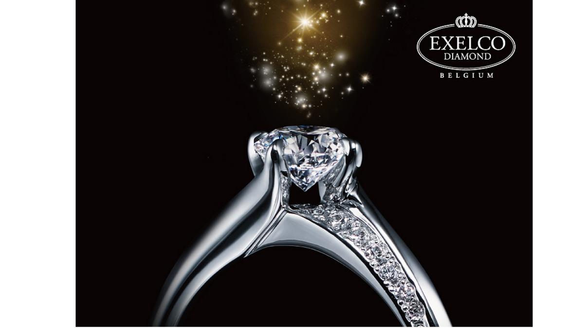 斜めに流れる美指ダイヤラインが人気!「エクセルコ ダイヤモンド」結婚指輪人気ランキング~2020年上半期~